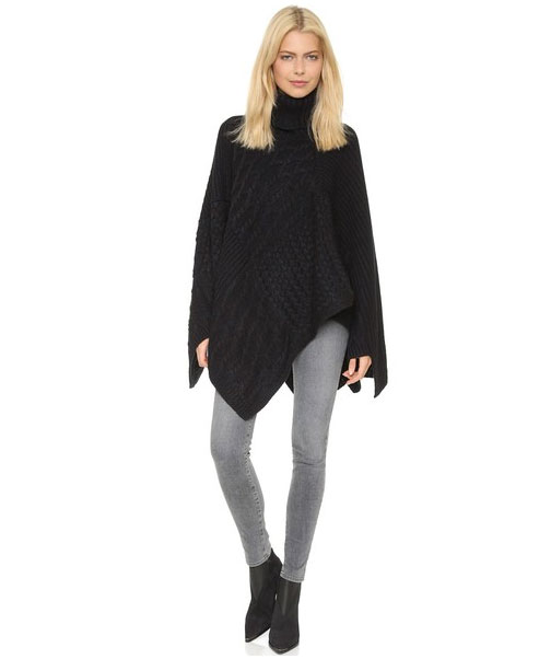 How To Dress 15 Years Younger: Will You Really Wear A Poncho This Season?