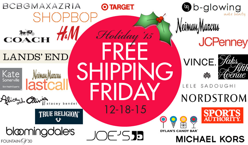 Today Is National Free Shipping Day! Shop Our Picks of Stores