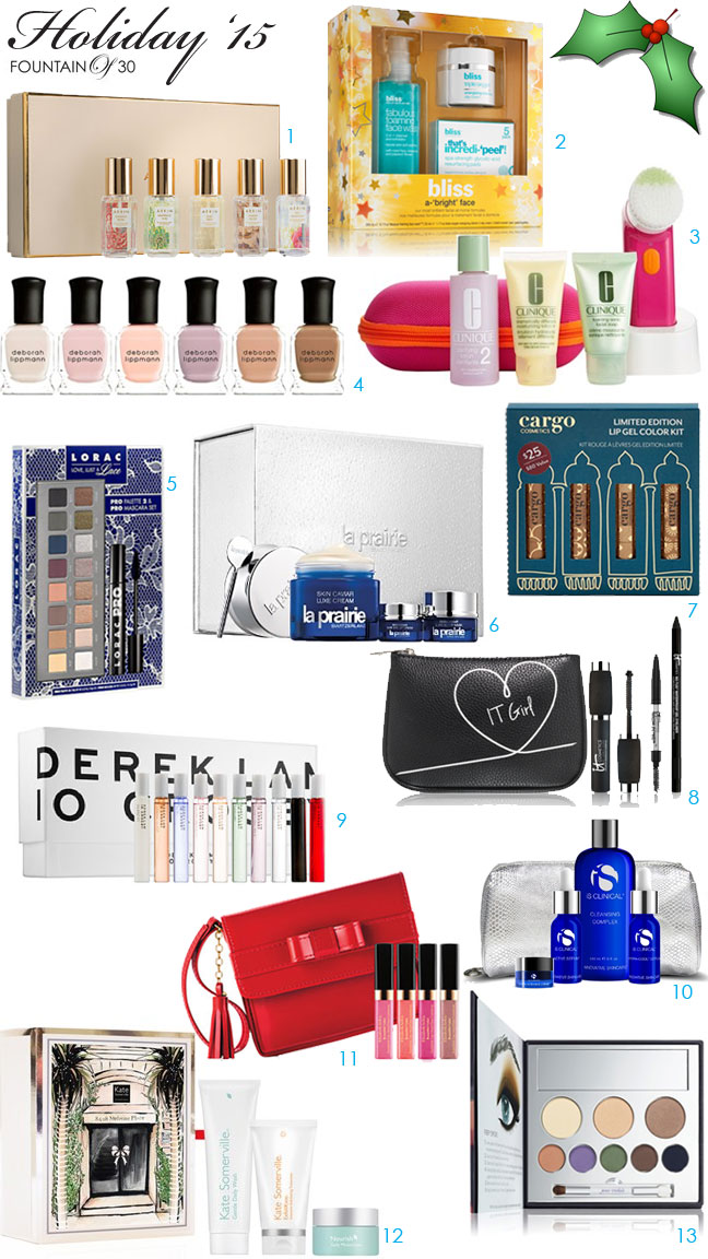 Holiday '15 Shopping Guide: Beauty Gifts