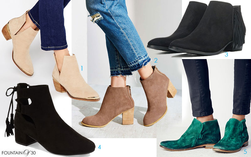 Looks for Less: Beautiful Booties for All Seasons