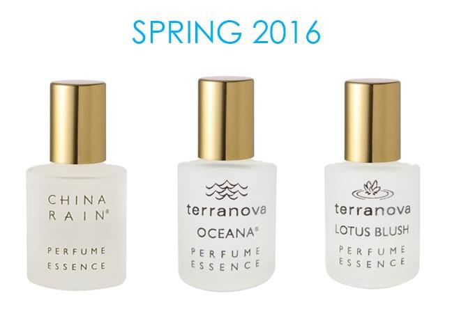 New TerraNova Fragrances For Spring 2016