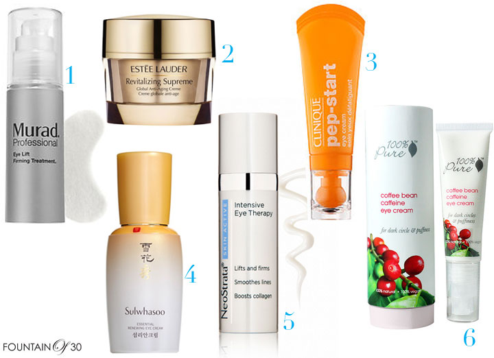 The Top 6 Anti-Aging Eye Creams You Need To Know About