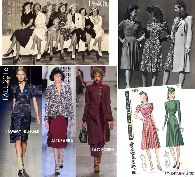 Fashion Through The Ages: Get Your 40s Dress and Shoes and Swing The Night Away