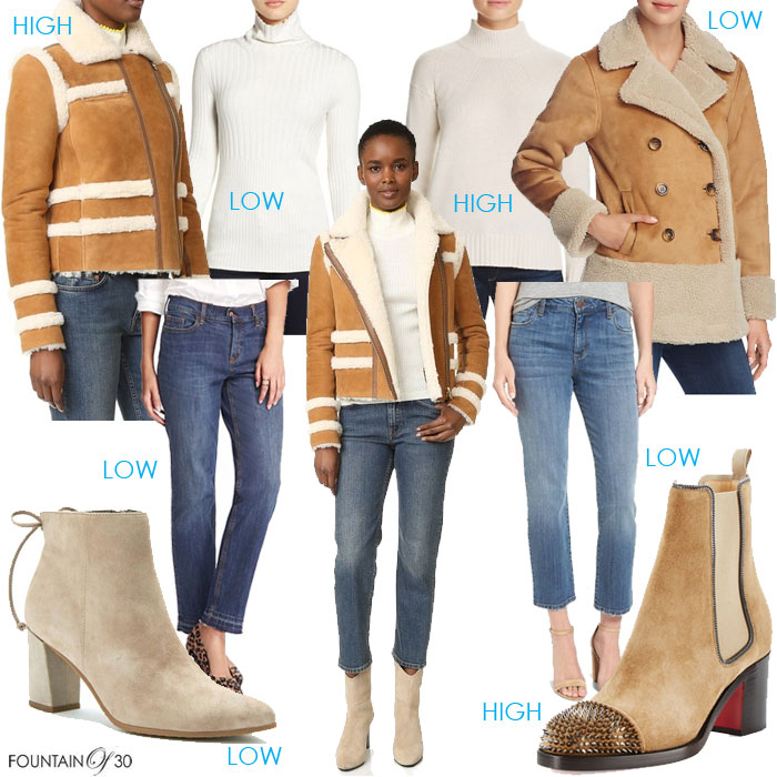 The Way To Go High Low… With Shearling!