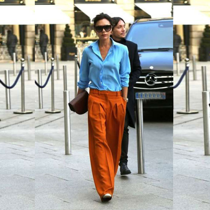 Celebrity Style Steal: Victoria Beckham Goes Bold With Color