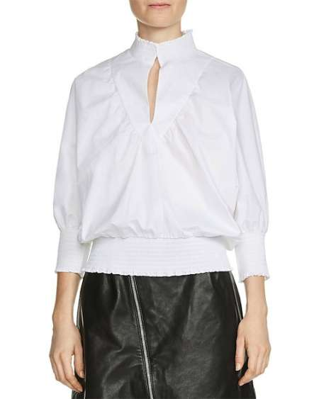 Nicole Richie Celebrity Look for Less: The Perfect White Blouse