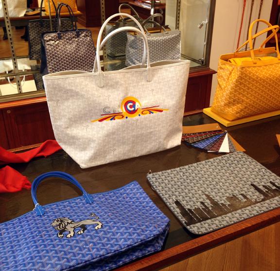 Goyard Handbags Neiman Marcus