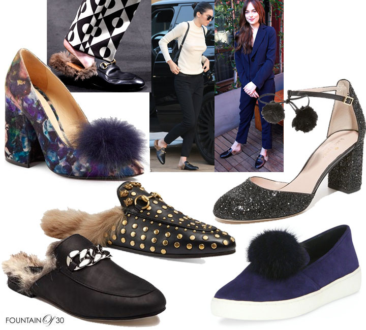 Wearable Trends: Fur-Lined Feet