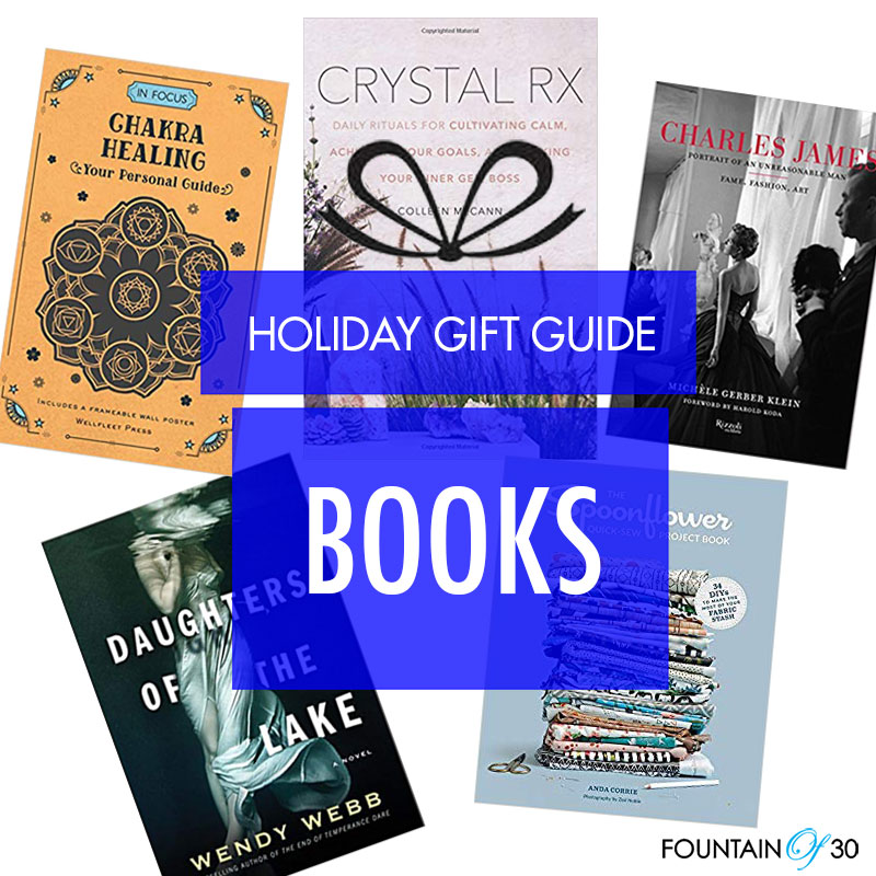 Holiday Gift Guide 2018: Book It! - fountainof30 com