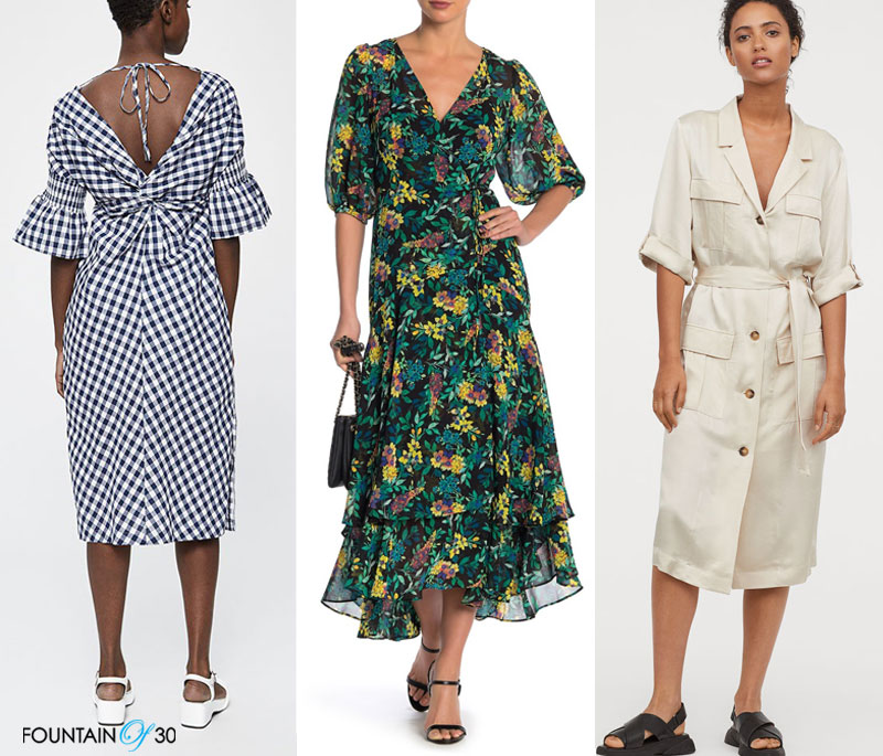 898bd54f6bb80 dresses for women over 40 3 dresses. Spring is finally here and it has me  all excited for spring dresses (and sandals). They are my favorite thing to  wear ...